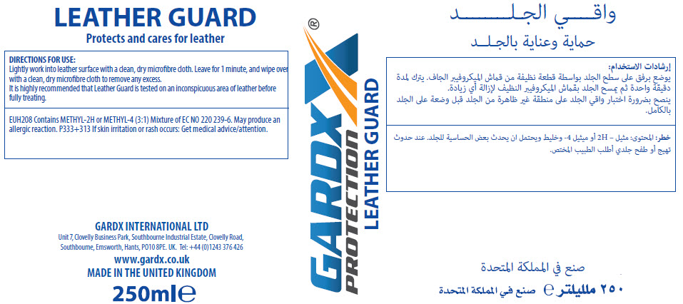 GardX Leather Guard - Cream- Material Safety Data Sheet