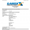 GardX Tyre Guard - Conical Application, Material Safety Data Sheet