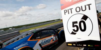 British GT- Snetterton Race Track speed limits