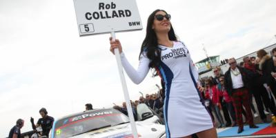 GardX Protect X Grid girl at BTCC Thruxton